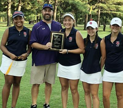 The Henry County High School girls' golf team