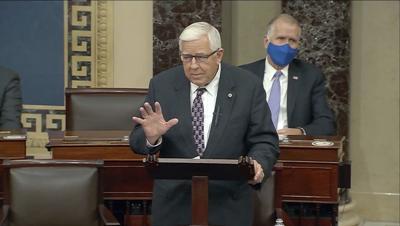 Former Senator-Accident