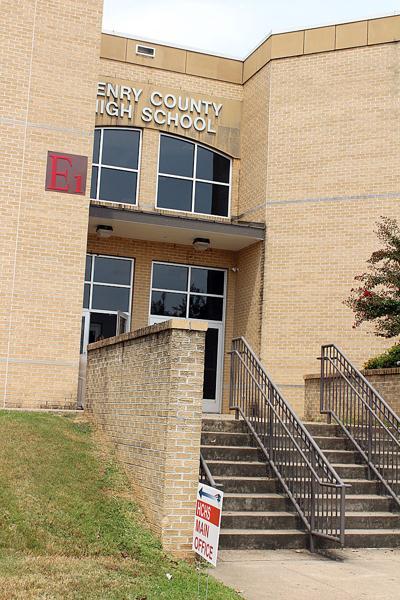 Main entrance at HCHS