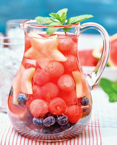 Watermelon-Infused Water