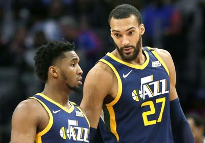 Virus Outbreak-NBA-Gobert Basketball