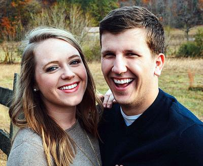 Blakely Riddle and her fiancé, Keith Schaal