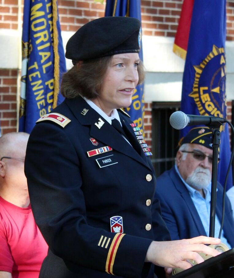 Maj. Parker speaks