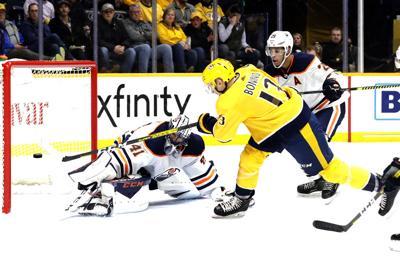 Oilers Predators Hockey