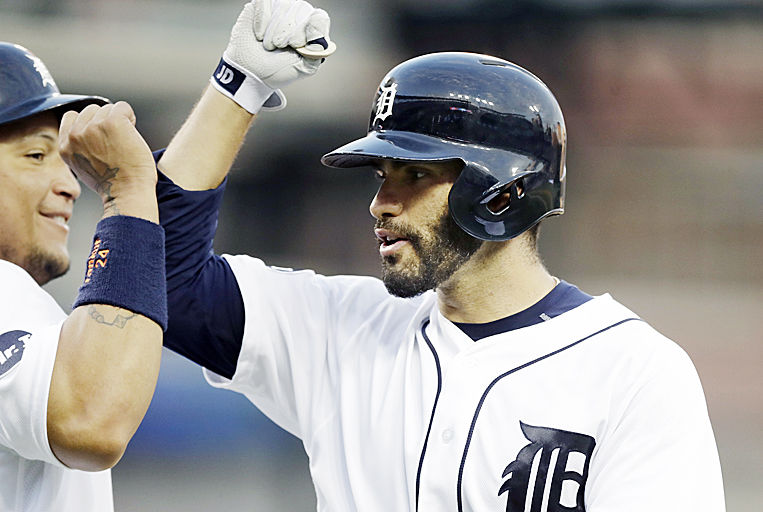 JD Martinez removed from Wednesday's game after being hit by pitch