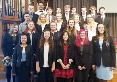 HCHS Future Business Leaders attend regionals