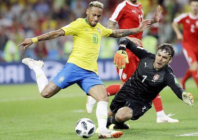 Russia Soccer WCup Serbia Brazil