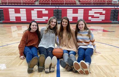 2020 HCHS Basketball Homecoming Court