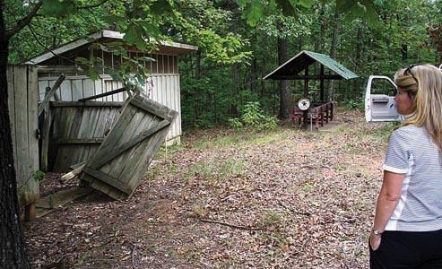 Camp Hazlewood in transition