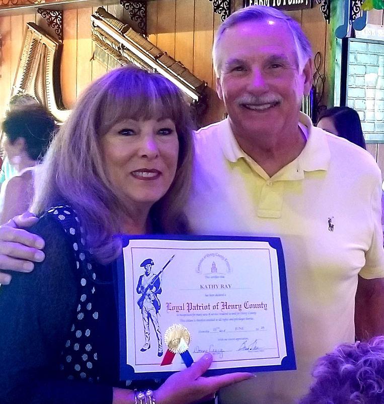 Ray receives Loyal Patriot Award