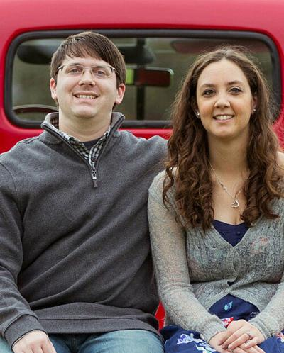 Troy Dunlap and his fiancee, Laura Saylor