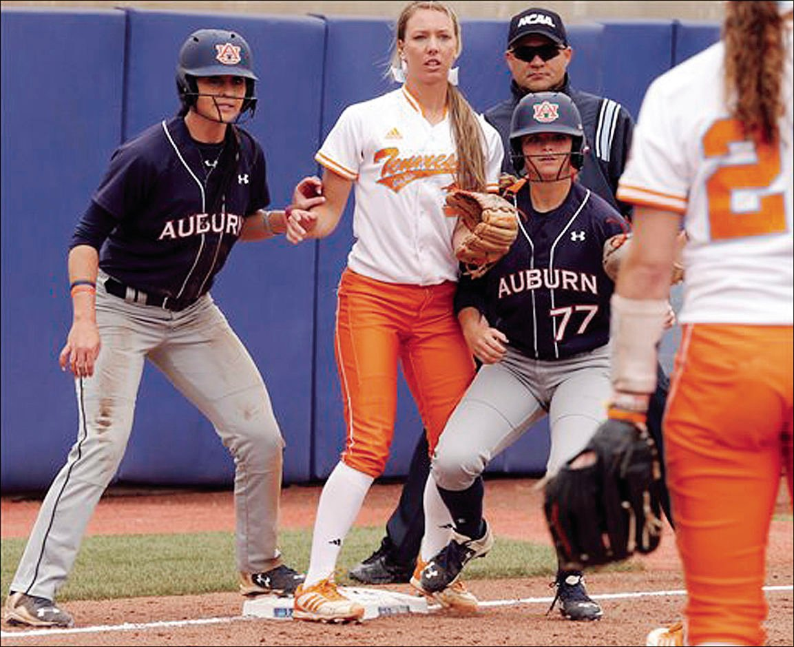 Auburn Tennessee Softball