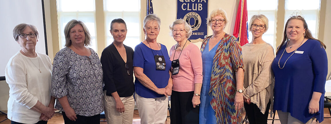 Quota club names officers, honors Snow