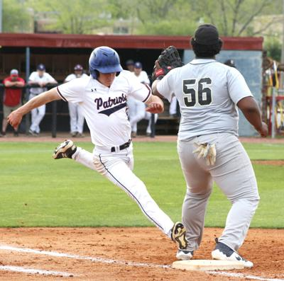 Patriots' hitters pile up 23 runs against Knights