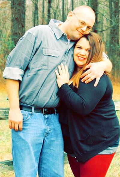 Chris Carter and his fiancée, Jana Ferguson