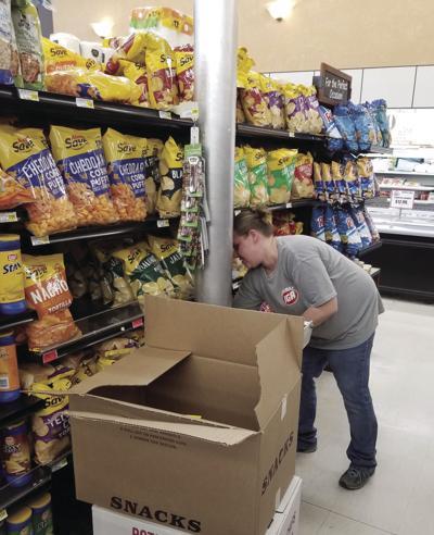 Stocking the shelves