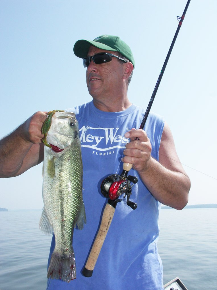 Lazy days of summer descend on anglers