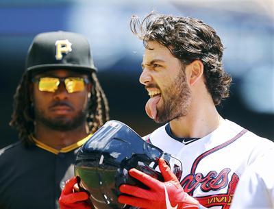 APTOPIX Pirates Braves Baseball