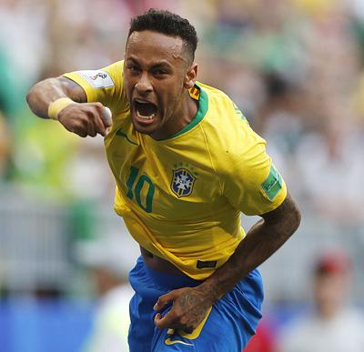 APTOPIX Russia Soccer WCup Brazil Mexico