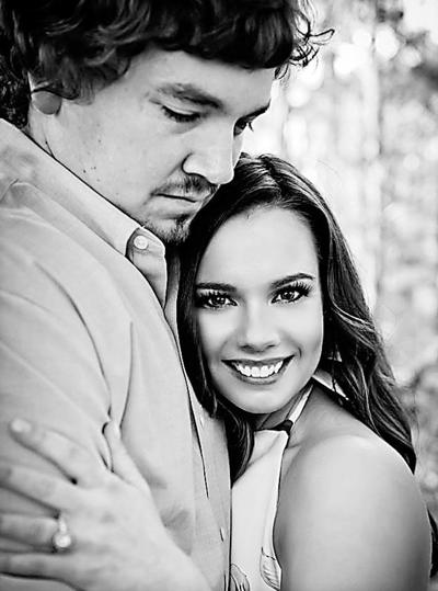 Matthew Massey and his fiancée, Samantha Wheat
