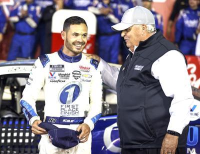 NASCAR Larson Sponsored Auto Racing