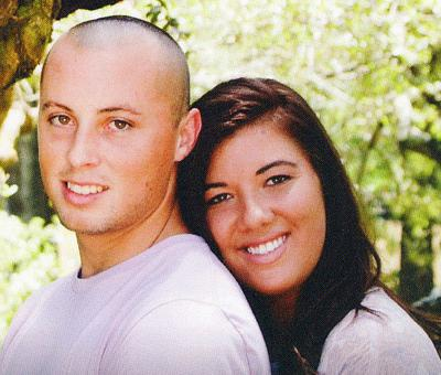 Dominic Daquilla and his fiancee Whitney Moody