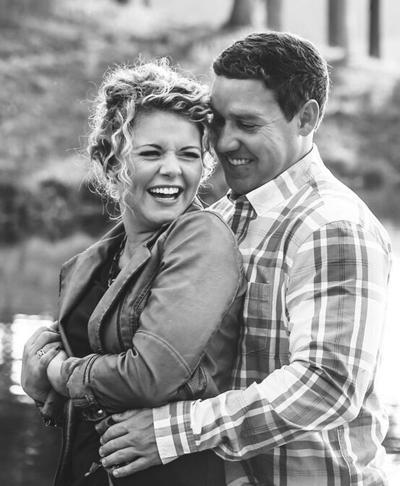 Morgan Todd and her fiance, Matt Sturdivant.
