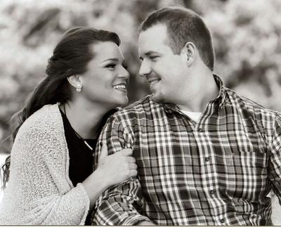 Rebekah Lee and her fiancé, Dalton Raspberry.