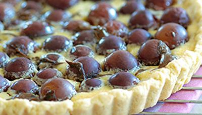 Fresh Grape Tart