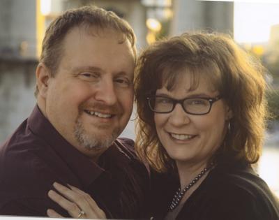 Chance Chambers and his fiancée, Jennifer Peterson
