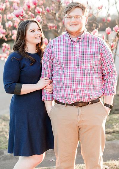 Emily Richardson and her fiancé, Trey Gerrell.