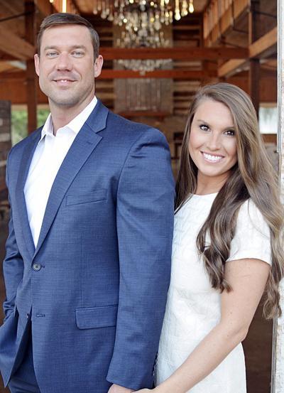 Cory Davis and his fiancée, Anna Carothers