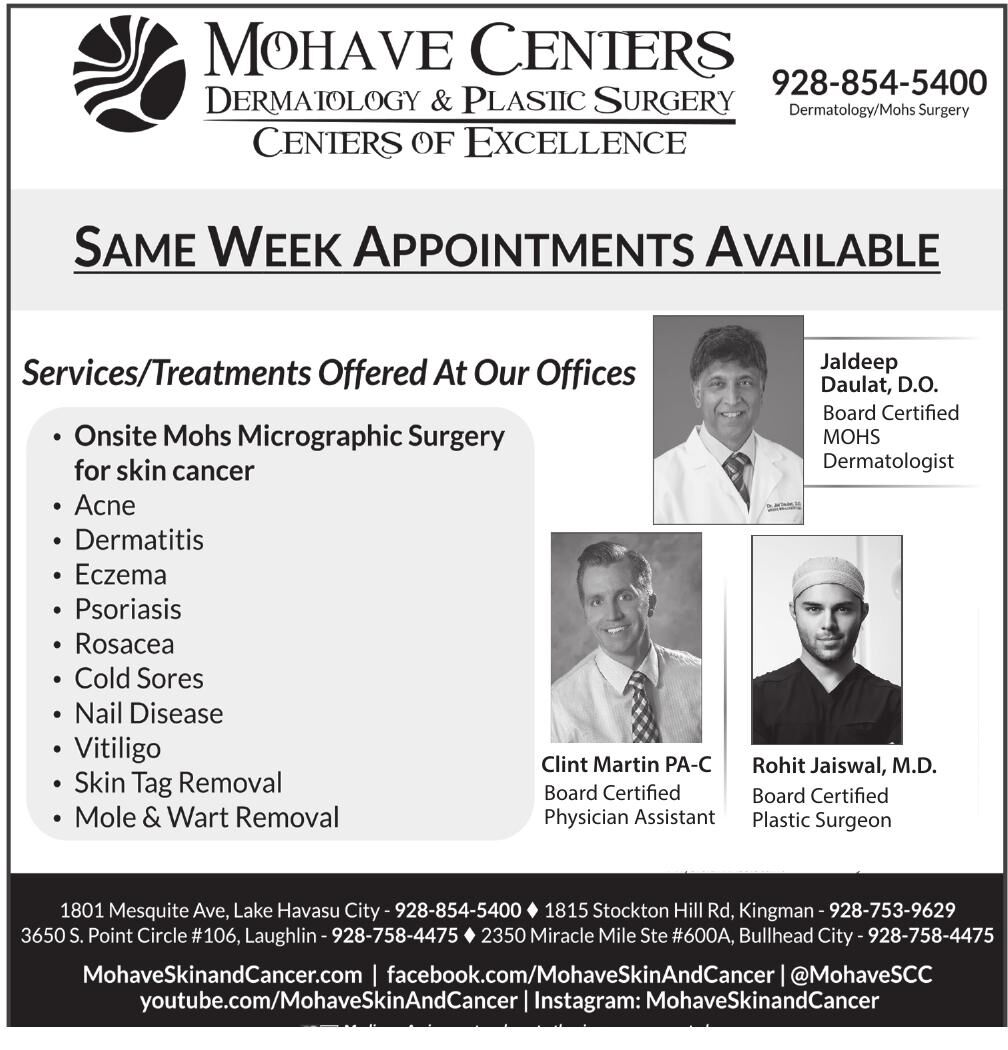Mohave Centers Dermatology