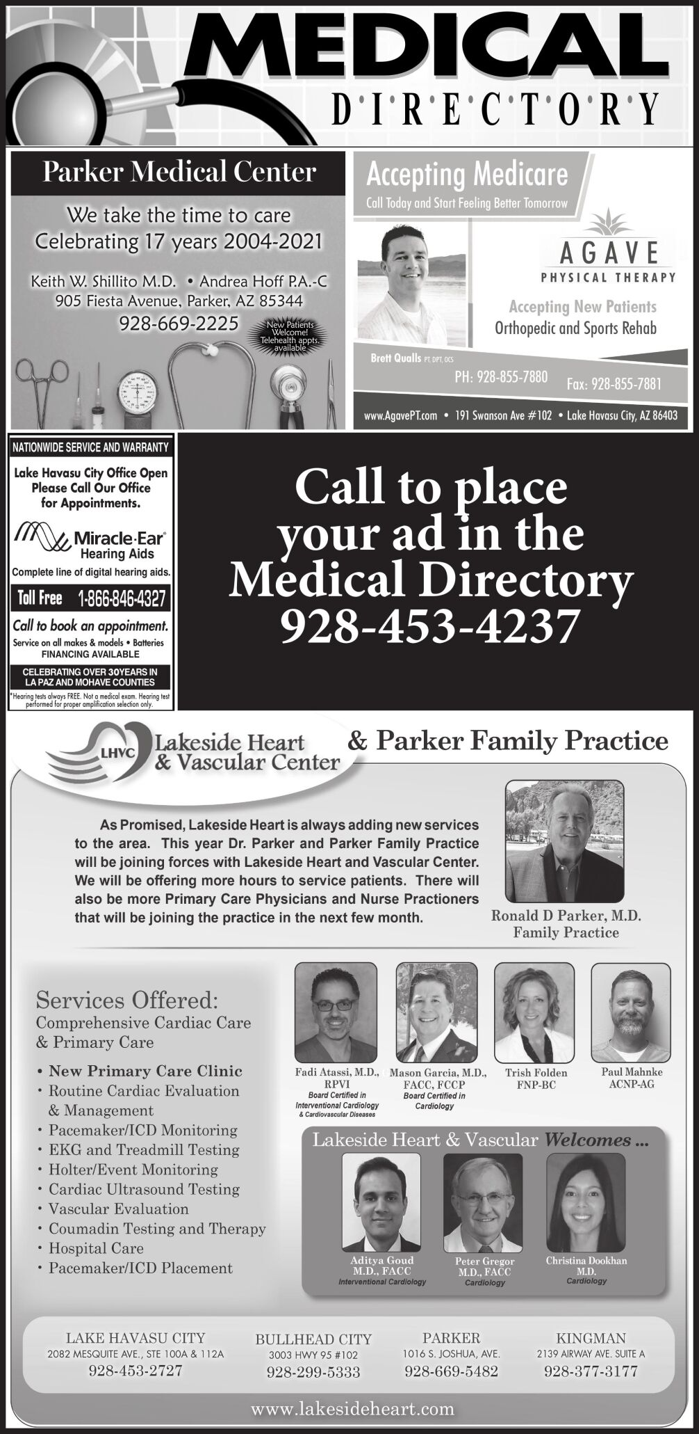 Medical Directory 6x21