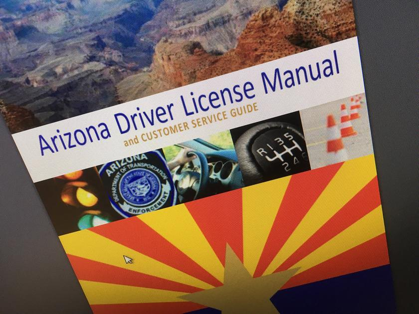 Updated Arizona Driver License Manual Now Available Online