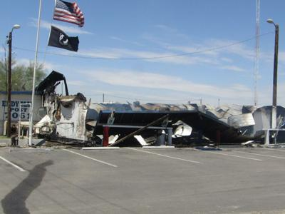 VFW Post after fire
