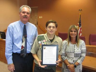 Supervisors honor Eagle Scout