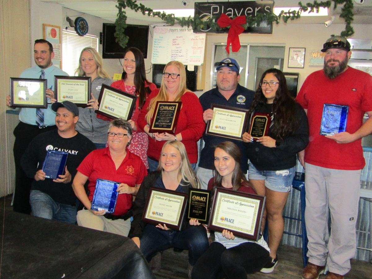 PAACE honorees
