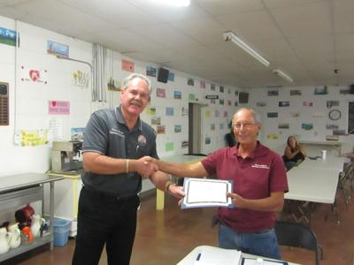 Bennett recognized for service to Bouse community