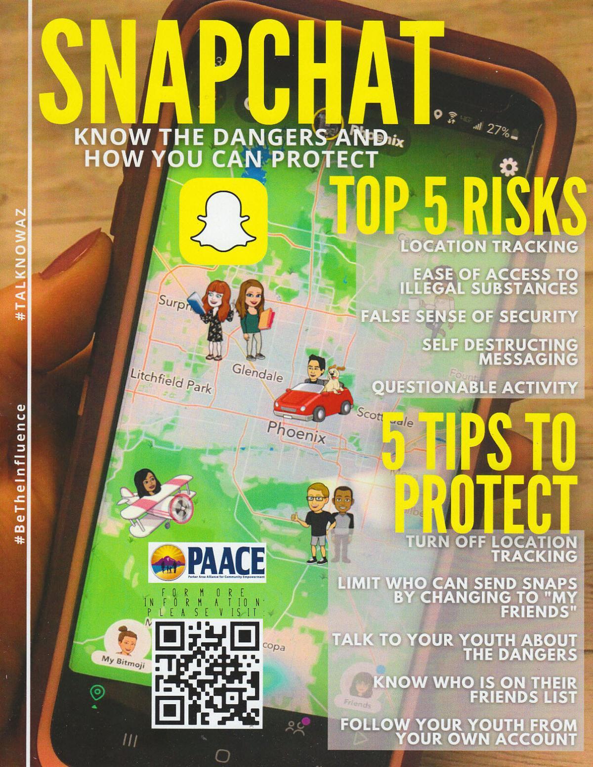 PAACE and Snapchat