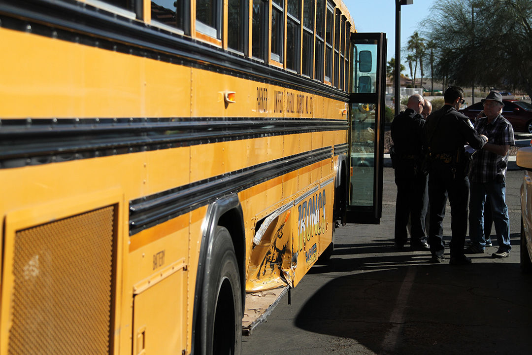 School bus, Mustang collide Wednesday afternoon | News