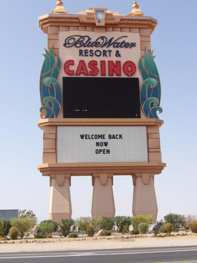 BlueWater sign