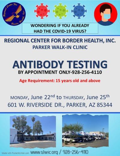 RCBH anti-body testing