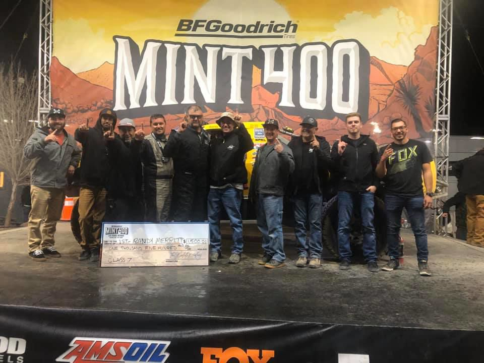 Mongo Racing Mint 400