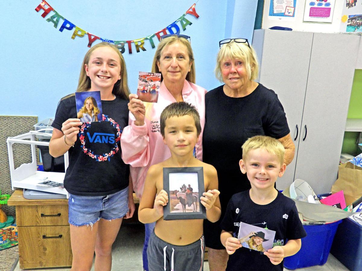 Buni, Karen and family