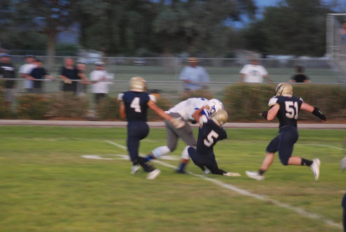 PHS football v Needles 1