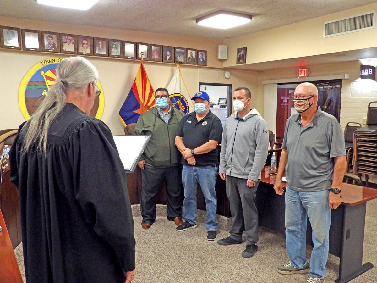 Council sworn in