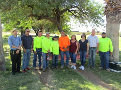 DAR serves lunch to Public Works employees