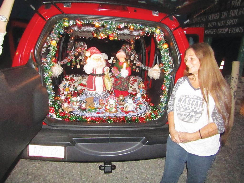 Christmas spirit in a Jeep | News | parkerpioneer.net