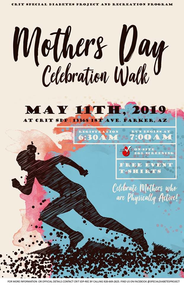 CRIT SDP Mother's Day Walk